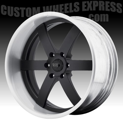 American Racing VF496 Polished Forged Vintage Custom Wheels 2