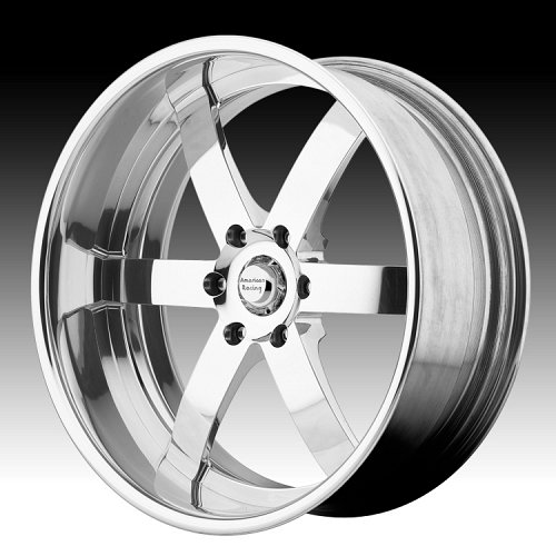 American Racing VF496 Polished Forged Vintage Custom Wheels 1
