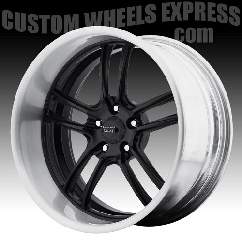 American Racing VF497 Polished Forged Vintage Custom Wheels 2