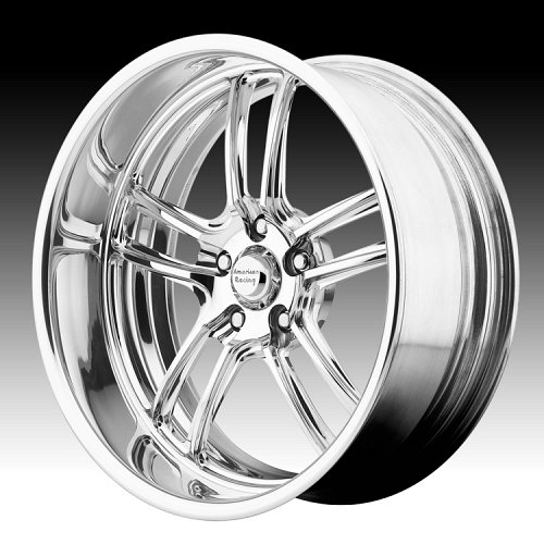 American Racing VF497 Polished Forged Vintage Custom Wheels 1