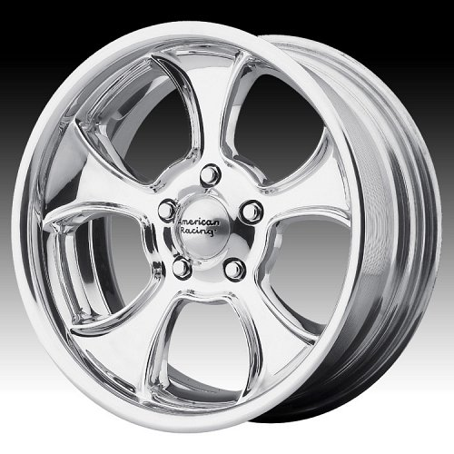 American Racing VN474 Gasser Polished Custom Wheels Rims 1