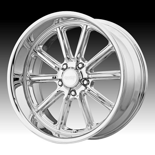American Racing VN507 Rodder Chrome Custom Wheels Rims 1