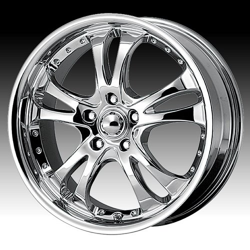 American Racing Casino AR683 683 Chrome Custom Rims Wheels 1