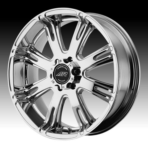 American Racing AR708 Chrome PVD Custom Rims Wheels 1