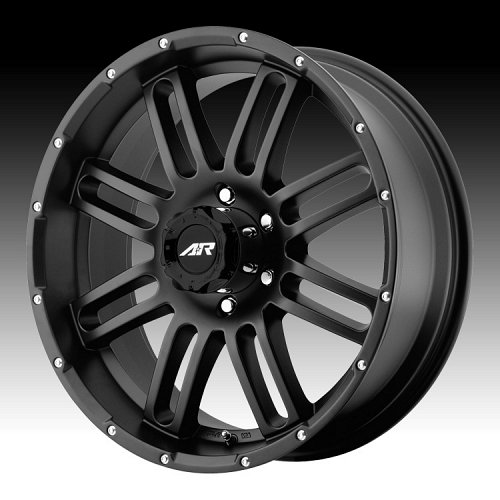 American Racing AR901 Satin Black Custom Rims Wheels 1