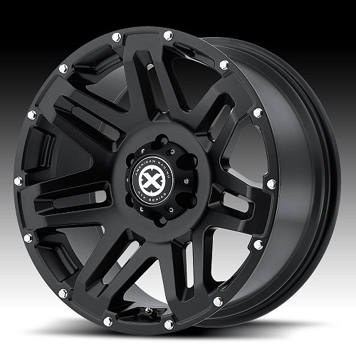 ATX Series AX200 Cast Iron Black Custom Wheels Rims 1