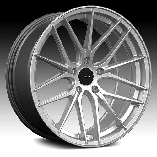 Advanti Racing CL Catalan Hyper Silver Custom Wheels Rims 1