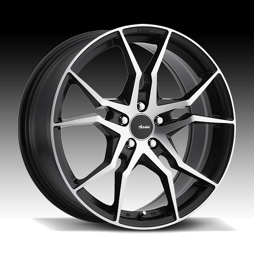 Advanti Racing HD Hydra Machined Black Custom Wheels Rims 1