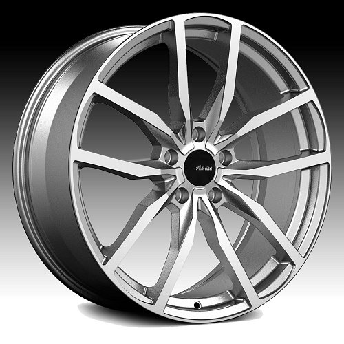 Advanti Racing RA Rasato Machined Gunmetal Custom Wheels Rims 1