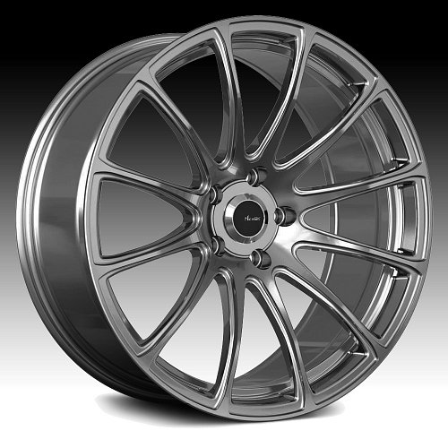 Advanti Racing SV Svelto Titanium Mirror Custom Wheels Rims 1