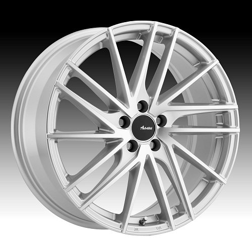 Advanti Racing TB Turbina Machined Silver Custom Wheels Rims 1