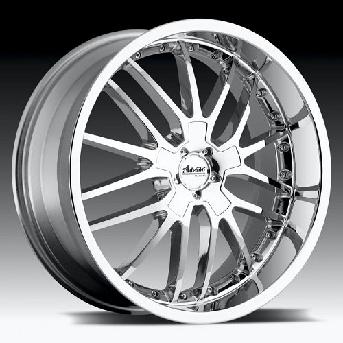 Advanti Racing A5 Ligero Chrome Custom Rims Wheels 1