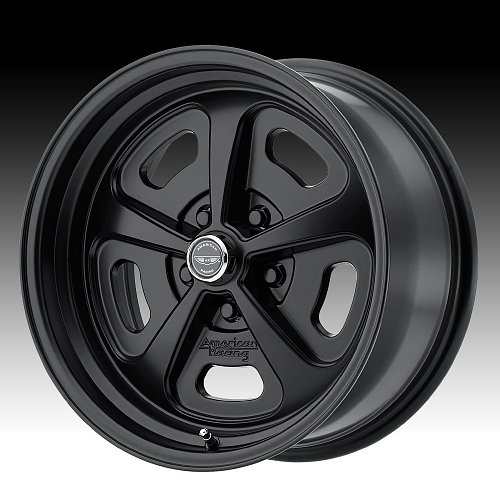American Racing VN501 500 Mono Cast Satin Black Custom Wheels Rims 1