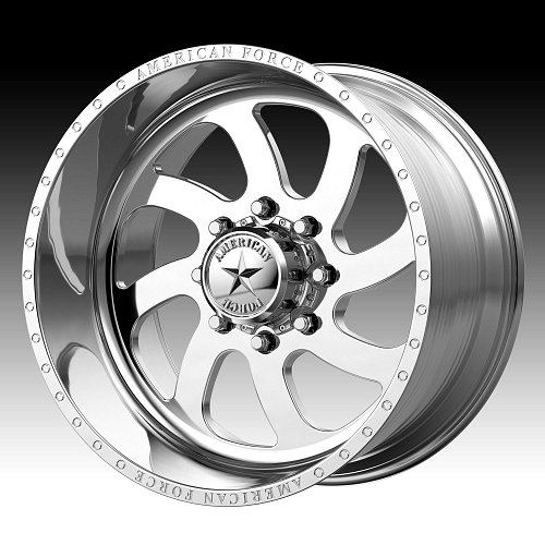 American Force Blade SS Polished Custom Wheels Rims 1