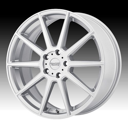 American Racing AR908 Machined Silver Custom Wheels Rims 1