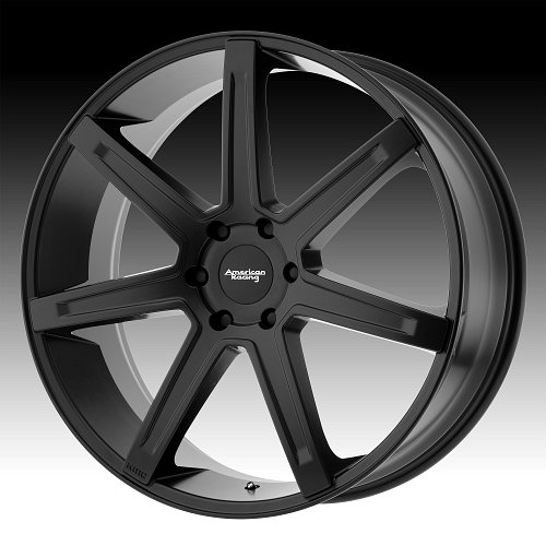 American Racing AR938 Revert Satin Black Custom Wheels Rims 1