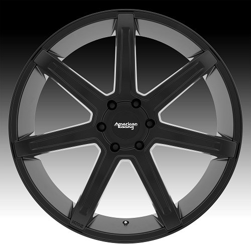 American Racing AR938 Revert Satin Black Custom Wheels Rims 2