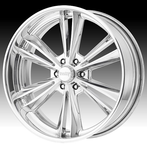 American Racing VF513 Polished Forged Custom Wheels 1