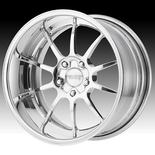 American Racing VF519 Polished Forged Custom Wheels 1