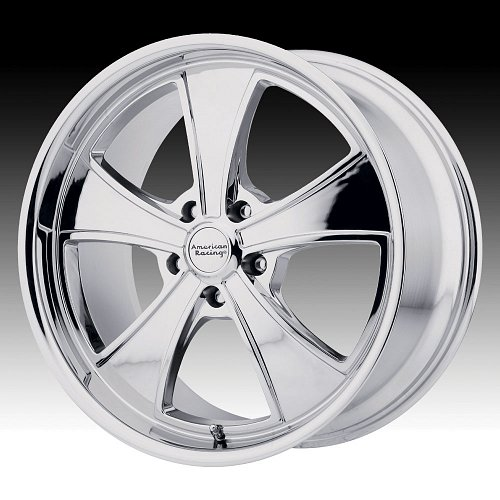 American Racing VN807 Mach 5 Chrome Custom Wheels Rims 1