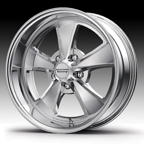 American Racing VN808 Mach 5 Chrome Custom Wheels Rims 1