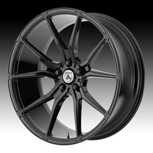 Asanti Black Label ABL-13 Black Custom Wheels Rims 1
