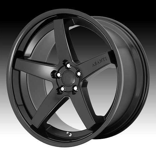 Asanti Black Label ABL31 Regal Black Custom Wheels Rims 1