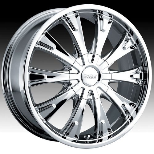 Cruiser Alloy 903C 903 Cake FWD Chrome Custom Rims Wheels 1