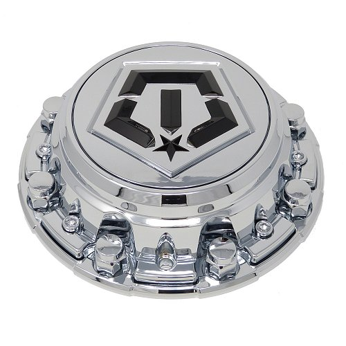 CAP-544V-6-TIS / TIS Chrome Bolt-On Center Cap 1