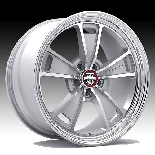 Center Line 630MS MM1 Machined Silver Custom Wheels Rims 1