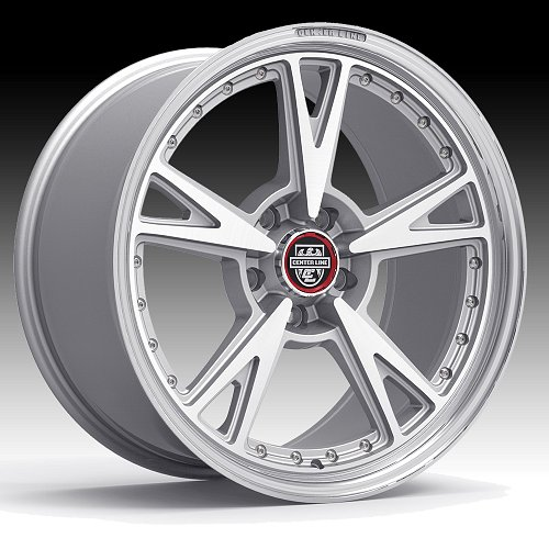 Center Line 632MS MM3 Machined Silver Custom Wheels Rims 1