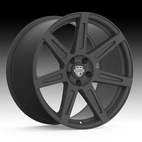 Centerline 670B SM1 Rev 7 Satin Black Custom Wheels Rims 1