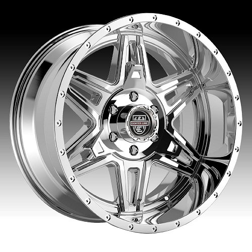Center Line LT2V 831V Chrome PVD Custom Wheels Rims 1