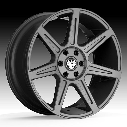 Center Line ST4 841GM Rev 7 Gunmetal Custom Wheels Rims 1