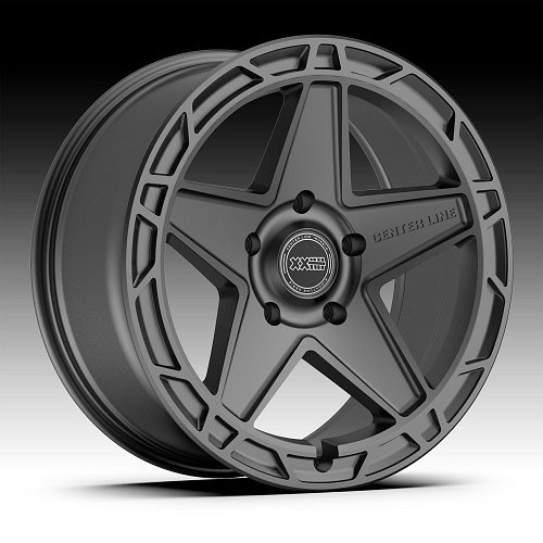 Center Line 844SC Hammer Satin Charcoal Custom Wheels Rims 1