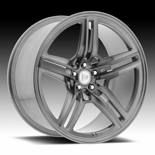 Centerline F43HB LP4 Brushed Dark Tint Custom Wheels Rims 1