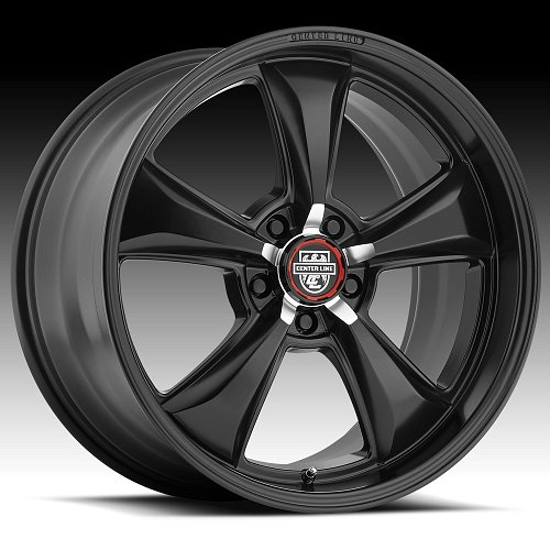 Center Line 635B MM6 Satin Black Custom Wheels Rims 2