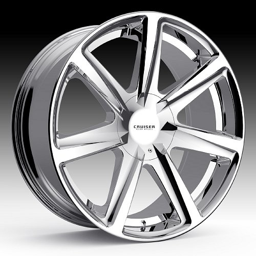 Cruiser Alloy 922C Kinetic Chrome Custom Wheels Rims 1