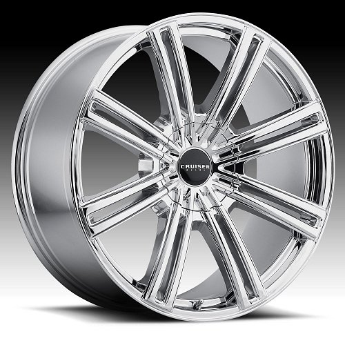 Cruiser Alloy 916V Obsession Chrome PVD Custom Wheels Rims 1