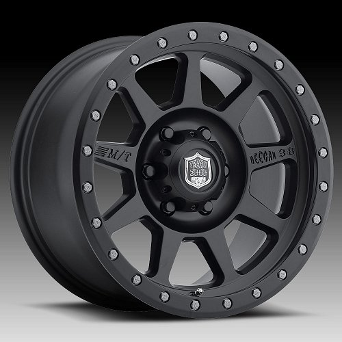 Mickey Thompson Deegan 38 Pro-4 Matte Black Custom Wheels Rims 1