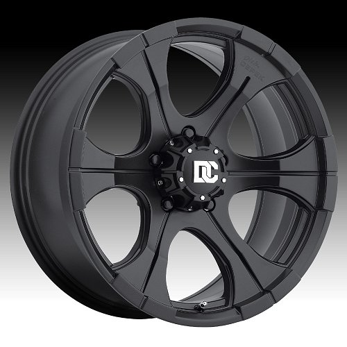 Dick Cepek DC Blackout Black Custom Rims Wheels 1