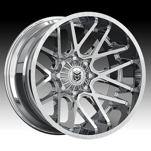 DropStars 654V Chrome PVD Custom Wheels Rims 1
