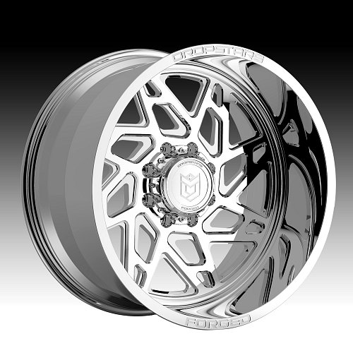 DropStars Forged F60P1 1pc Polished Custom Wheels Rims 1