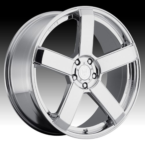 DropStars DS44 644C Chrome Custom Rims Wheels 1