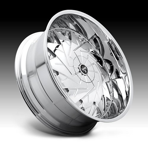 Dub Dazr S235 Chrome Custom Wheels Rims 2