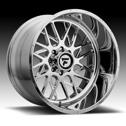 Fittipaldi Offroad Forged FTF12 Polished Custom Wheels Rims 1
