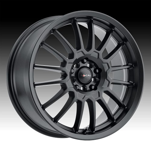 Focal 456SB F-56 Satin Black Custom Wheels Rims 1