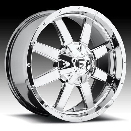 Fuel Frontier D543 Chrome PVD Custom Truck Wheels Rims 1