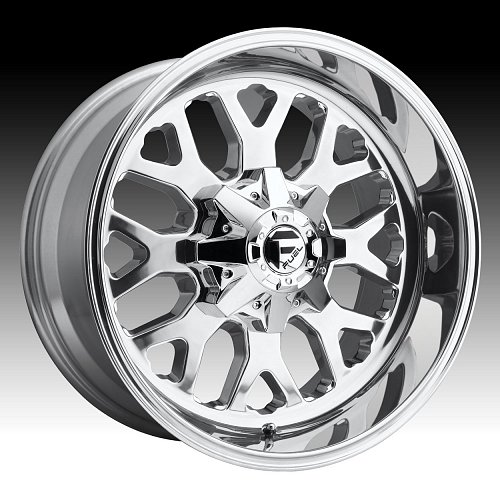 Fuel Titan D586 Polished Custom Truck Wheels Rims 1