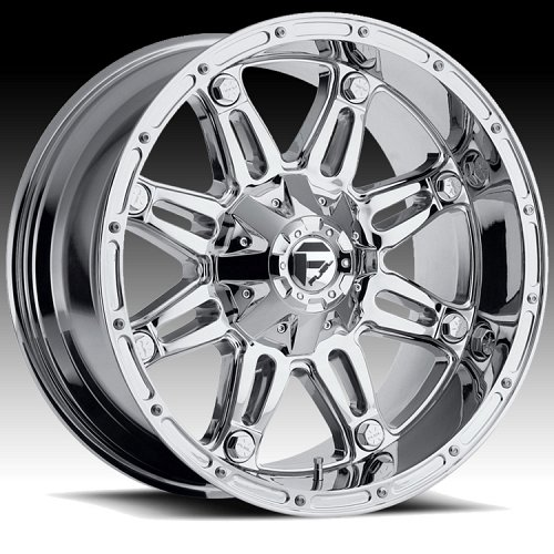 Fuel Hostage D530 Chrome Truck Wheels Rims 1